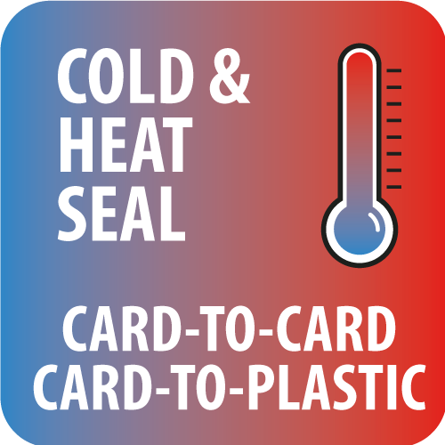 Cold and heat sealing